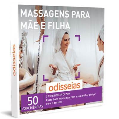experiência de massagens para mãe e filha odisseias
