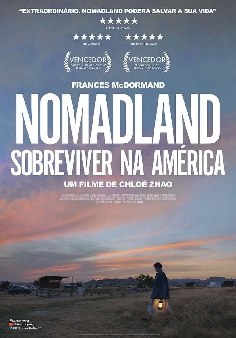 poster do fine nomadland de chlóe zhao