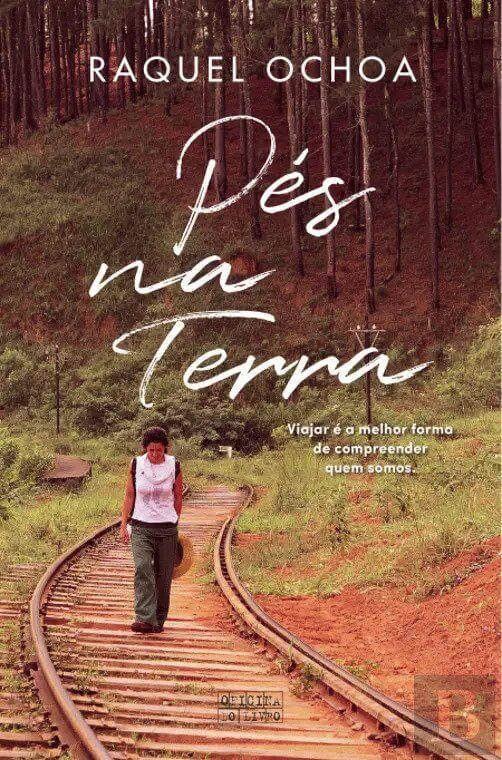 capa do livro pés na terra de Raquel Ochoa