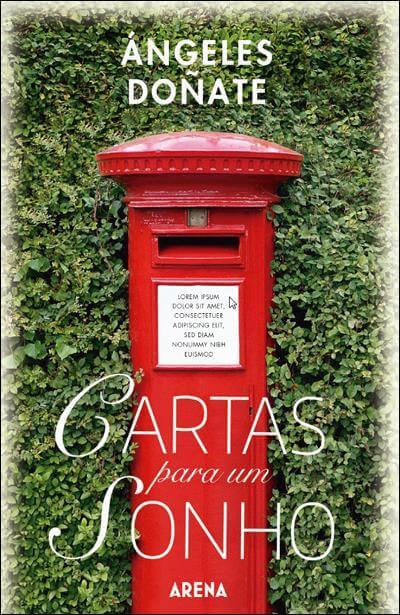 capa do livro cartas por um sonho de Ángeles Doñate