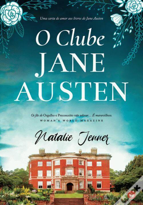 capa do livro o clube de Jane Austen de natalie jenner