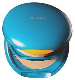 base protetora em pó de textura sedosa e leve shiseido